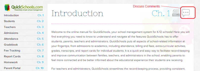QuicKSchools Online Manual