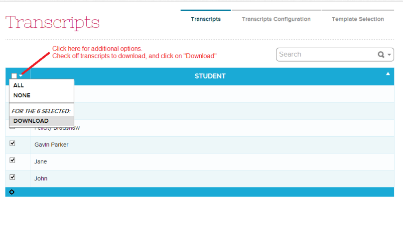 Download Transcripts in Bulk