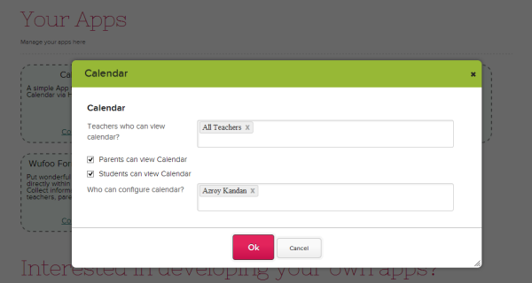 Controlling Access to the Calendar App
