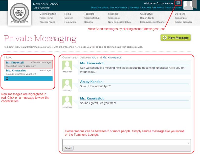 PrivateMessaging