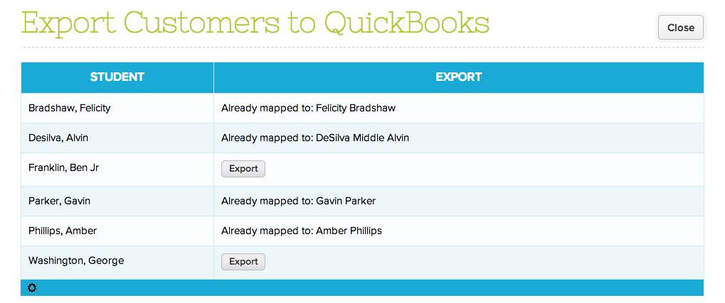 Quickbooks + Fee Tracking – QuickSchools Support