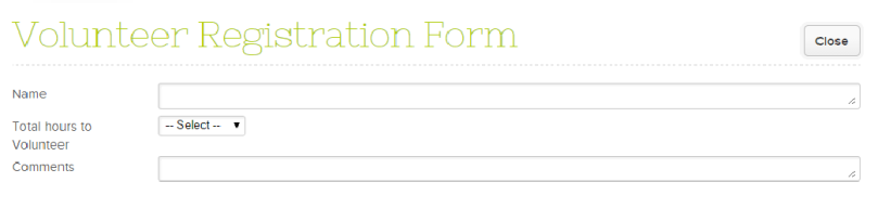 Preview Online Form