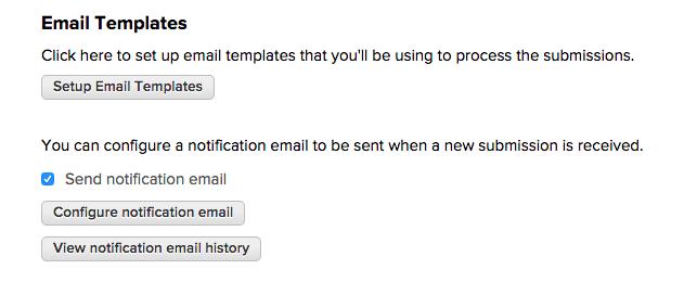 Configure Email Templates on QuickSchools