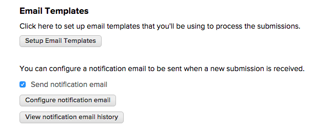 Configure Email Templates on QuickSchools