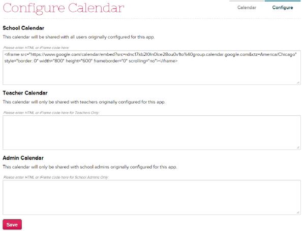 Multiple Calendars on Calendar App