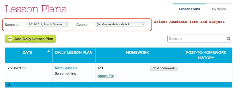 Lesson Plans by Subject