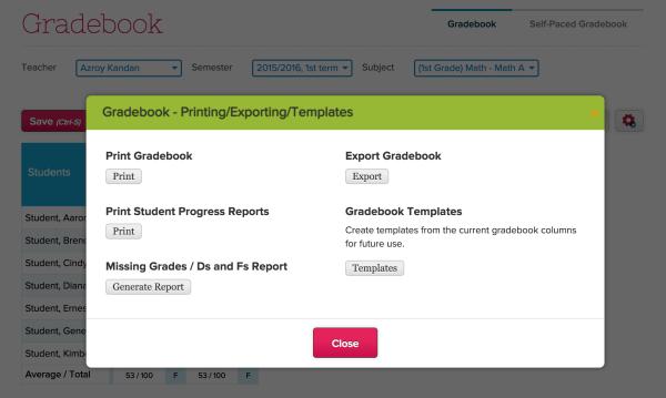 New Gradebook Improvements (2015)