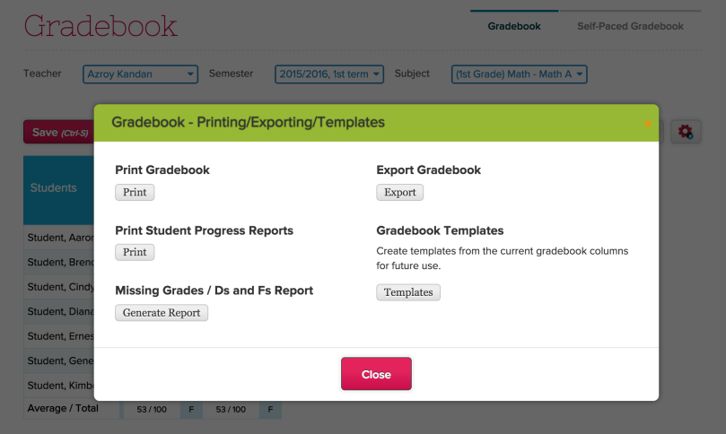 New Gradebook Improvements (2015)