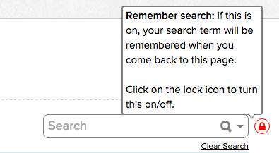 QuickSchools Locked Search