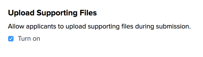 Configure Online Forms to Upload Files