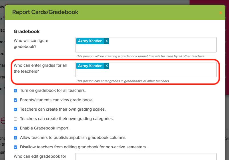 Configure Access to Lock Gradebook Final Grade